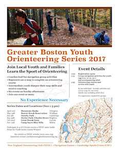 2017 Youth Series flyer
